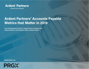 Accounts Payable Metrics That Matter in 2019 - PRGX