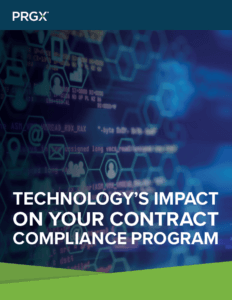 Technology's Impact on your Contract Compliance Program