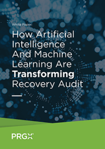 thumbnail of the whitepaper cover reading How Artificial Intelligence And Machine Learning Are Transforming Recovery Audit