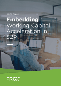 Embedding Working Capital Acceleration in S2P