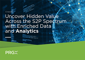 cover features a globe made of lights and data and reads Recover Hidden Value Across the S2P spectrum with Enriched Data and Analytics
