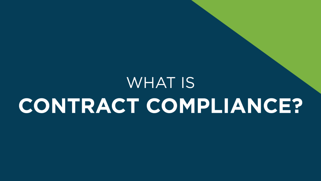 What is Contract Compliance?